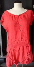 Dream Out Loud By Selena Gomez Reddish Pink Adjustable Waist Shirt Top Size S