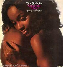 THE STYLISTICS - Thank You Baby (UK 10 Track 1975 LP)
