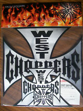 """Jesse James Die Cut West Coast Choppers Motorcycle Stickers  """"New Old Stock"""""""