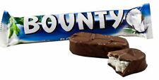 4 BOUNTY COCONUT Chocolate Bars Full Size 57g Each- Canada FRESH & DELICIOUS
