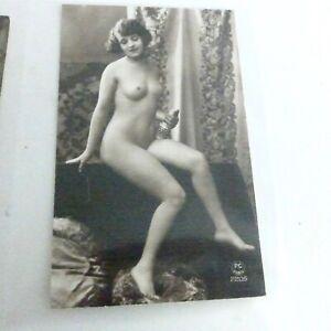 aus Sammlung -  VINTAGE  4 EROTIK  AKT FOTOS aus den 20.er Jahren !