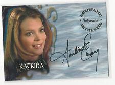 Amelinda Embry as Katrina Buffy The Vampire Slayer Season 6 Autograph Card A38