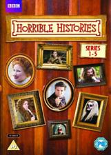 Horrible Histories - Series 1-5 DVD 2001 Region 2