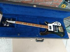 Vintage 79 Rickenbacker Model 4001 Electric Bass Guitar 1979  with Case SF-3026