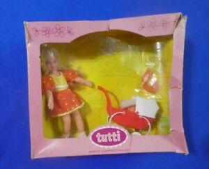 Vintage Barbie Tutti Doll - MOD Era Tutti 7454 Walkin My Dolly European Version