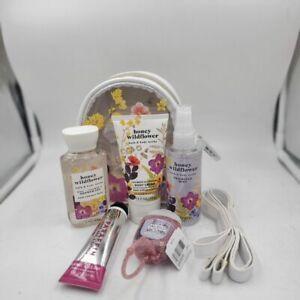 Bath & Body Works Honey Wildflower Travel Sized Gift Set