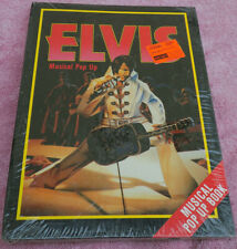 SEALED ~ 1985 Elvis Presley Musical Pop Up Book, Bonanza Pop UP, Cown Publishing