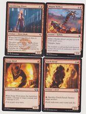 ALL RED  DEVIL DECK 40 CARDS N-MINT MTG MAGIC +20 LAND  J111-25