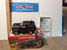 Jackhammer   Mask Kenner Vintage 1986 Truck Cliff Dagger Instructions Box