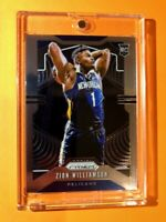 Zion Williamson PANINI PRIZM ROOKIE CARD 2019-20 RC #248 WELL CENTERED - Mint!