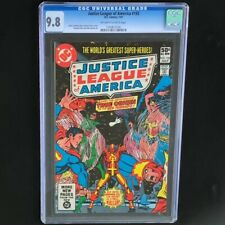 Justice League of America #192 (1981) 🔥 CGC 9.8 🔥 JLA Red Tornado DC Comic