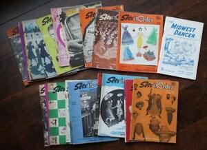 1951-54 Square Dance Sets in Order TWENTY-THREE Magazine set-GREAT Ads & Photos!