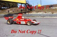 Clay Regazzoni Ferrari 312 B3 Canadian Grand Prix 1974 Photograph 1