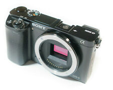 Sony ILCE Alpha A6000 Body schwarz, guter Zustand 24.3 MP A 6000