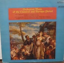 Orchestral Music of the Classical and Baroque Period 33rPM MS9020  011517LLE
