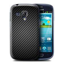 STUFF4 Back Case/Cover for Samsung Galaxy S3 Mini/Carbon Fibre Effect/Pattern