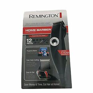 Remington home barber  Haircut Kit 12 pieces model HC60 color  Black