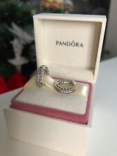PANDORA Genuine Hearts Of Pandora Hoop Earrings - 296317CZ