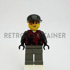 LEGO Minifigures - 1x soc055 - Goalie - Omino Minifig Soccer Goalkeeper