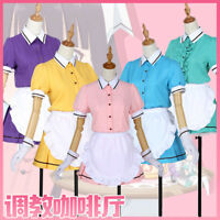 Blend S Uniform Cosplay Costume Maika Sakuranomiya Kaho Hinata Mafuyu Maid Dress