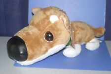 "The dog Shiba Inu Long Soft Boa Big Plush Doll Artlist Collection 12"""