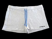 BNWT Converse Womens Girls Sports Casual Gym Grey Blue Tie Shorts Size M