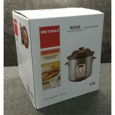 TianJi Electric Cooker, 4 L, Clay Cooking Pot DGD40-40SWD