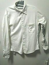 Y-3 X Yohji Yamamoto Chemise Blanc Aisselles Rayures Moyen Ch 107-109cm