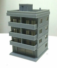 Outland Models Railway Layout Modern City Building 4 Story Apartment N Scale