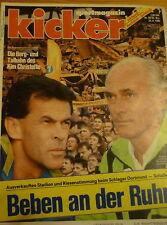 Kicker 68/1992 , Borussia Dortmund , Dynamo Dresden