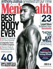 Men's Health Magazine - December 2020 Jason Momoa