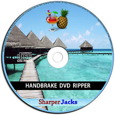 NEW & Fast Ship! HandBrake DVD Ripper / Converter / Transcoder - Windows Disc