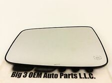 Dodge Ram 1500 2500 LH Driver Side Power Heated Fold Away Mirror Glass new OEM
