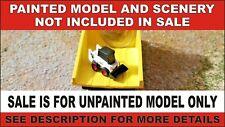 N scale skid steer equipment 1:160 model railroad train diorama unpainted
