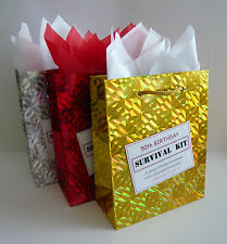 FEMALE 50th Birthday SURVIVAL KIT Humorous Gift Idea Unusual Novelty Present Fun