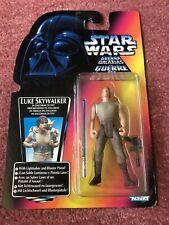 Kenner STAR WARS Luke Skywalker Power Of The Force Red Orange Card figure Euro
