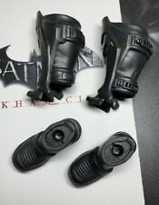 HOT TOYS DC VGM18 Batman Arkham City 1/6 Batman figure boots