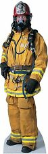#417 Firefighter Cardboard Stands Theatrical Productions Cut-Out Figurine
