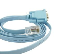 NEW DB9 Serial RS232 to RJ45 Ethernet LAN Cisco Console Router Switch Line Card