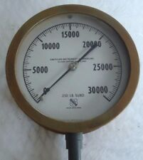 "Vintage American Instrument Company Inc.Silver Springs MD gauge 6 1/2"" bezel"