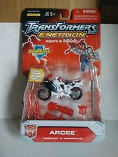 Hasbro Transformers Energon Robots In Disguise - Omnicon Autobot Arcee Action F…