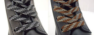 WALKING BOOT HIKING BOOT STRONG FLAT LACES BOOTLACES - FREE UK P&P!
