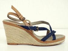 MARC O POLO * Keilschuhe Gr. 37 Keilabsatz Sandale Plateau Chaussures Damen