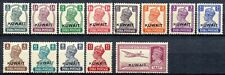 KUWAIT 1945 - KING GEORGE VI STAMPS OF INDIA OVERPRINTED ' KUWAIT ' 3p /14a   38