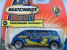 Matchbox Hero City Nr. 57 - VW Microbus - OVP Blister Rarität!