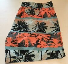 LAGUNA ORIGINALS SWIMWEAR MEN'S BIG & TALL SWIM BOARD SHORTS SIZE - 4X NWT
