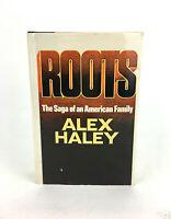 Roots The Saga of an American Family Alex Haley Doubleday 1976 HC DJ