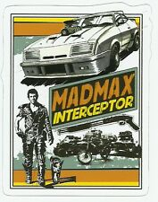 MEL GIBSON MAD MAX MOVIE  Sticker Decal