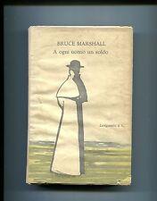 B.Marshall# A OGNI UOMO UN SOLDO # Longanesi 1957