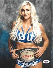 CHARLOTTE FLAIR WWE DIVA SIGNED AUTOGRAPH 8X10 PHOTO PSA/DNA COA